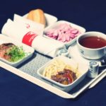 menu food airline Russia flights from St.Petersburg