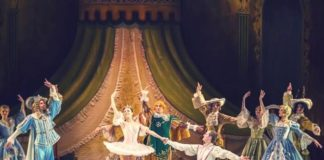 Russian show ballet on ice