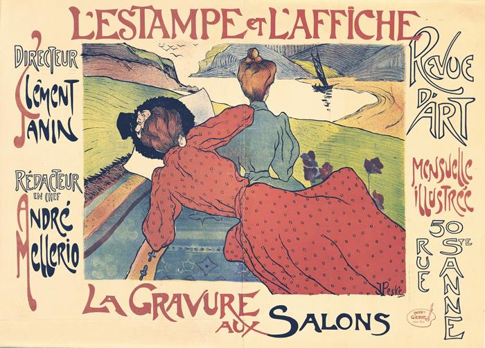 Advertising posters french art