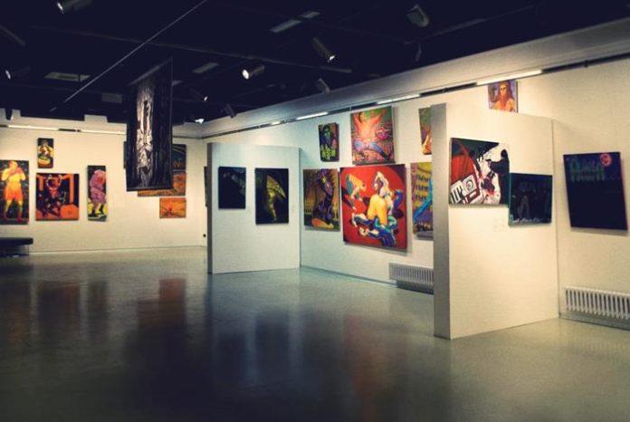 Museum of modern art in Saint Petersburg Russia