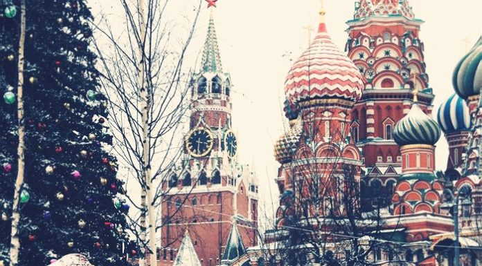 history of christmas and new year's eve in Russia