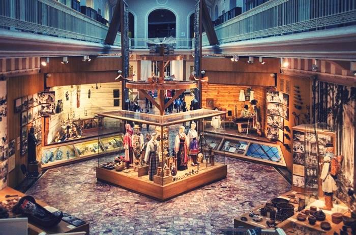 ethnographic museum in St. Petersburg
