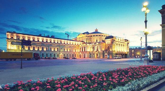 Photo of Mariinskiy theatre in Saint Petersburg