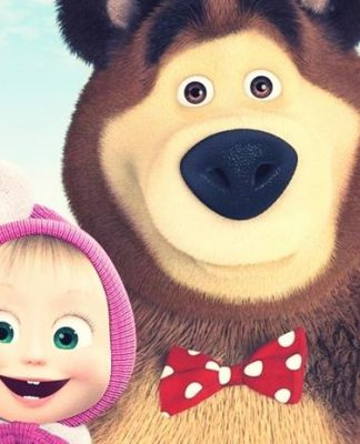 Masha and the Bear Russian cartoon