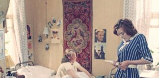 Interior design in popular Soviet films