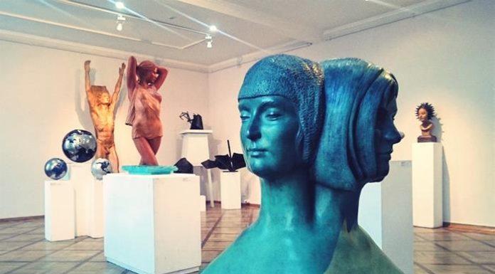Modern sculpture exhibition Saint Petersburg