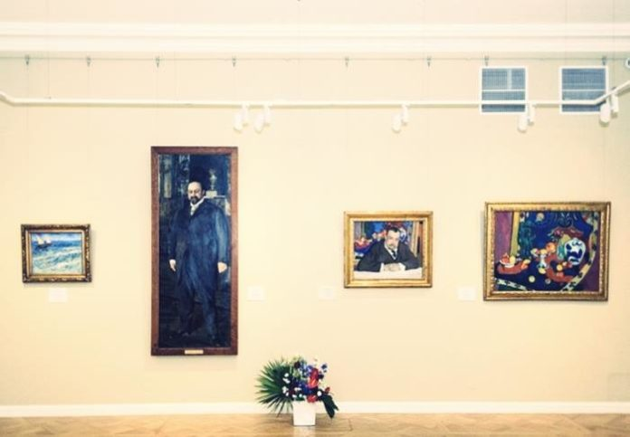 Morozov brothers exhibition of impressionism paintings in St.Petersburg