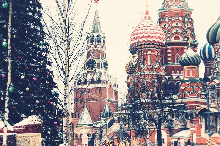 Christmas and New Year's Eve in Russia